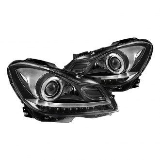 2012 Mercedes C Class Custom & Factory Headlights – CARiD com