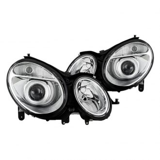 Spyder® - Chrome Factory Style Projector Headlights