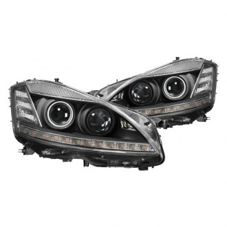 Spyder® PRO-JH-MBW22107-HID-BK - Black Projector Headlights with Parking LEDs