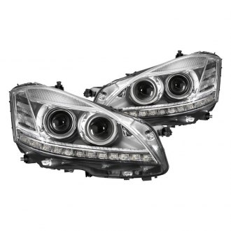 Spyder® PRO-JH-MBW22107-HID-C - Chrome Projector Headlights with Parking LEDs