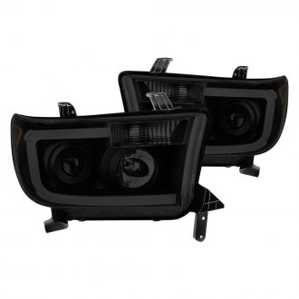 Spyder® - Black/Smoke LED DRL Bar Projector Headlights