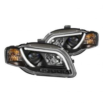 Audi A Custom Factory Headlights CARiDcom - 2006 audi a4 headlights