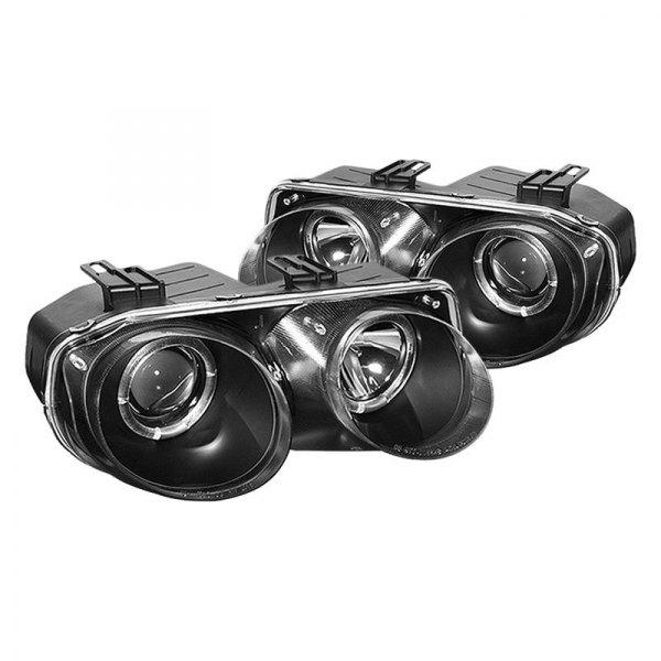 Acura Integra 1999 Black LED Halo Projector