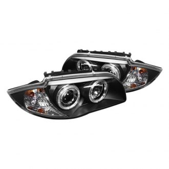 Spyder® - Black LED Halo Projector Headlights
