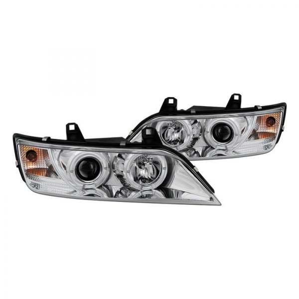 Spyder 174 Bmw Z3 2001 Chrome Led Halo Projector Headlights