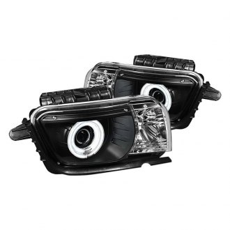 Spyder® - Black Dual Halo Projector Headlights