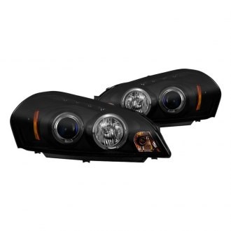 Spyder® - Black/Smoke Halo Projector Headlights with LED DRL