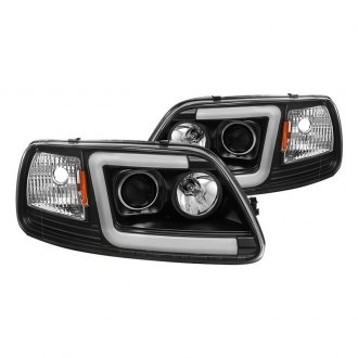 2003 Ford F 150 Custom Factory Headlights Carid Com