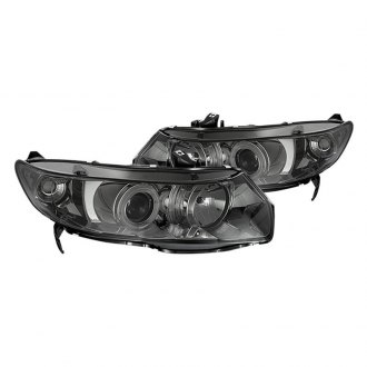 Spyder® - Chrome/Smoke CCFL Halo Projector Headlights