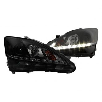 Spyder® - Black/Smoke Projector Headlights with Parking LEDs