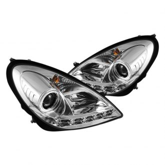 Spyder® - Chrome Projector Headlights with Parking LEDs