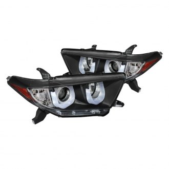 Spyder® - Black 3D LED U-Bar Projector Headlights