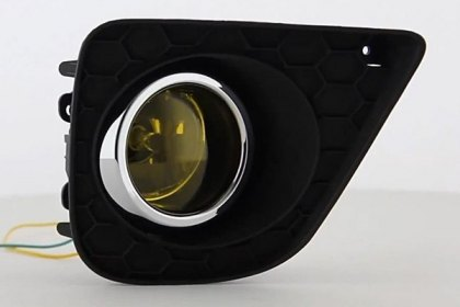 FL-HA2013-2D-Y - Spyder® Yellow Factory Style Fog Lights, Featured 360 view (HD)