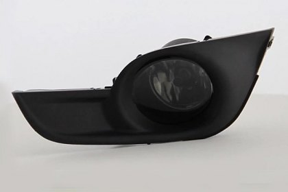 FL-NA13-SM - Spyder® Smoke Factory Style Fog Lights, Featured 360 view (HD)