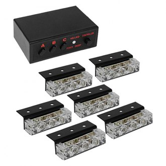 Spyder® - LED White Strobe Lights with Control Box