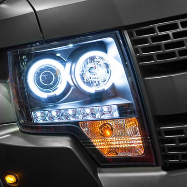 Spyder® - Halo Projector Headlights on Ford F-150