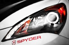 Spyder® - Halo Headlights with LEDs Installed