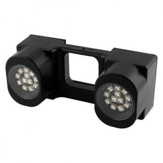 "Spyder® - 2"" White Tow Hitch LED Working Lights"