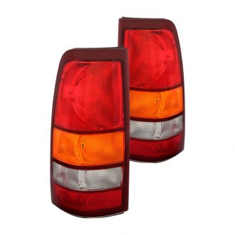 Spyder® - Chrome Red/Amber OE Style Tail Lights