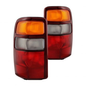 Spyder® - Chrome Red/Amber Factory Style Tail Lights