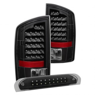 Spyder® - Black LED Tail Lights and 3rd Brake Light Set