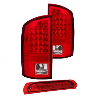 Spyder® - Chrome Red/Smoke LED Tail Lights and 3rd Brake Light Set