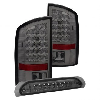 Spyder® - Chrome/Smoke LED Tail Lights and 3rd Brake Light Set