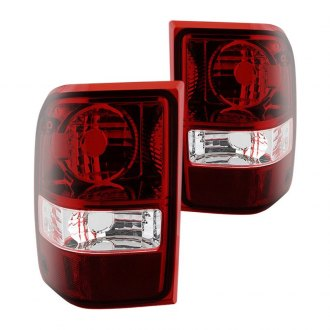 Spyder® - Chrome/Red OE Style Tail Lights