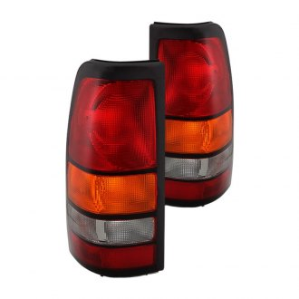 Spyder® - Chrome Amber/Red OE Style Tail Lights