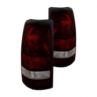 Spyder® - Chrome Red/Smoke OEM Style Tail Lights