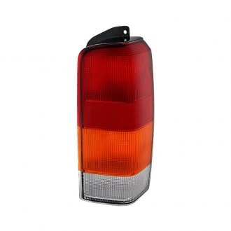 Spyder® - Passenger Side Chrome Red/Amber Factory Style Tail Light