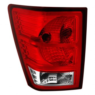 Spyder® - Driver Side Chrome/Red Factory Style Tail Light