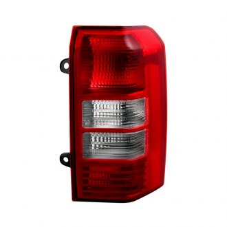 Spyder® - Passenger Side Chrome/Red Factory Style Tail Light