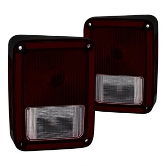 Spyder® - Black Red/Smoke OEM Style Tail Lights