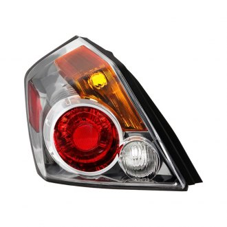 Spyder® - Black/Chrome Red/Amber Factory Style Tail Light