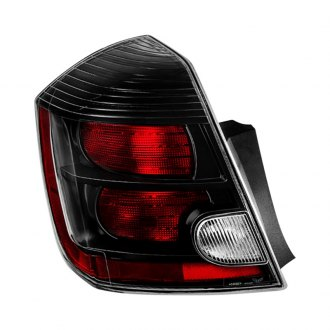 Spyder® - Driver Side Black/Red OE Style Tail Light