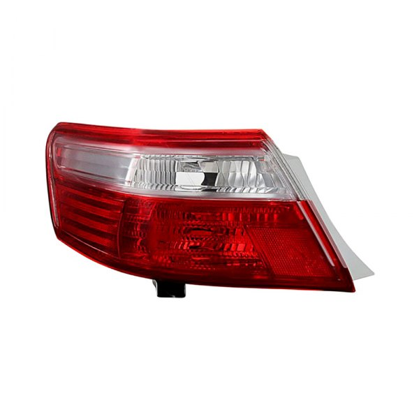 spyder toyota camry ce le se xle 2007 2008 chrome red factory style tail light. Black Bedroom Furniture Sets. Home Design Ideas