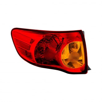Spyder® - Chrome Red/Amber Factory Style Tail Light