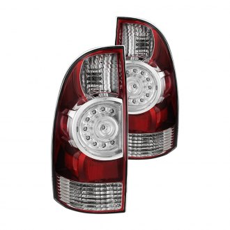 Spyder® - Chrome/Red OEM Style LED Tail Lights