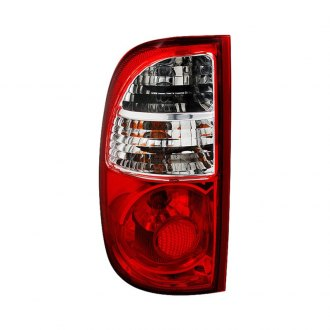 Spyder® - Chrome/Red Factory Style Tail Light