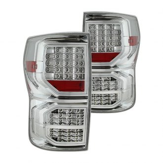 Spyder® - Chrome/Red LED Tail Lights with LED Singal Function