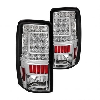 Spyder® - Chrome C-Shape LED Tail Lights
