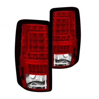 Spyder® - Chrome/Red C-Shape LED Tail Lights