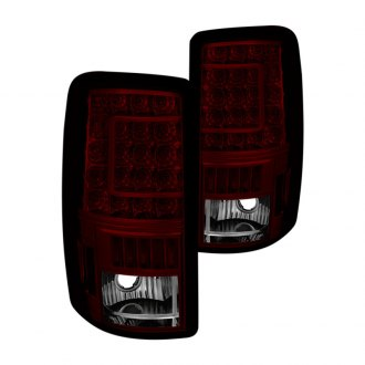 Spyder® - Chrome Red/Smoke C-Shape LED Tail Lights