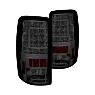 Spyder® - Chrome/Smoke C-Shape LED Tail Lights