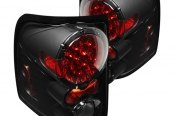 Spyder® - Black/Red LED Tail Lights