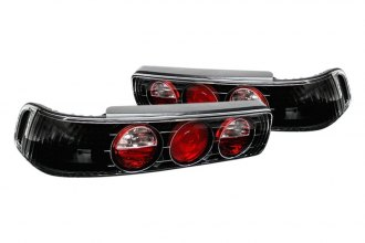 Spyder® - Black/Red Euro Tail Lights