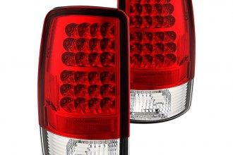 Spyder 174 Alt Yd Cd00 Led Rc Chrome Red Led Tail Lights