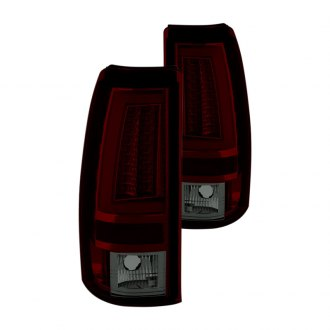 Spyder® - Chrome Red/Smoke LED Tail Lights