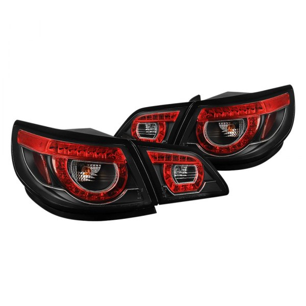 Spyder® - Black Red/Smoke LED Tail Lights